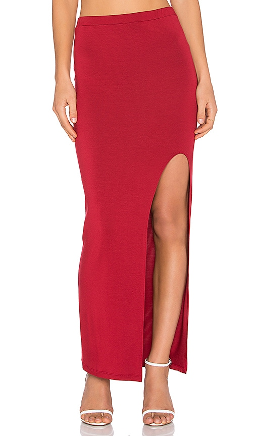 amour vert Zamora Skirt in Crimson