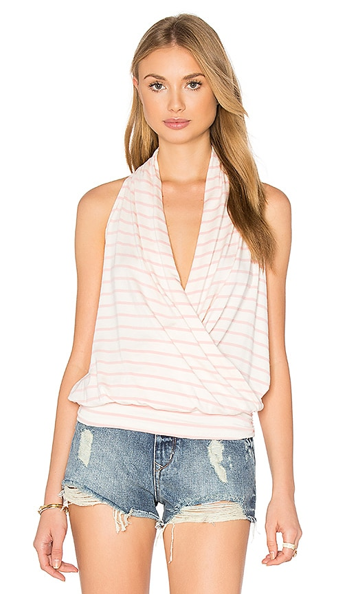 amour vert Agnes Top in White