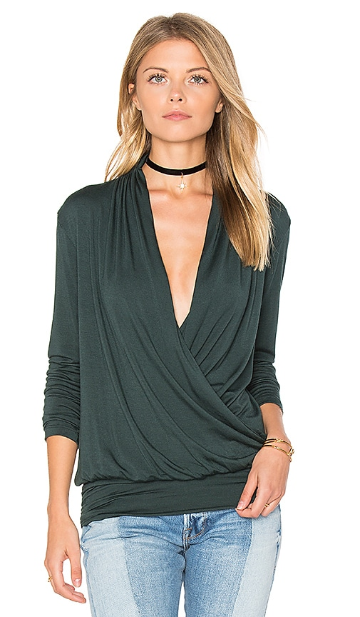 amour vert Anglea Top in Green