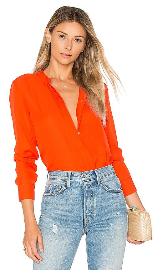 amour vert Mina Blouse in Orange