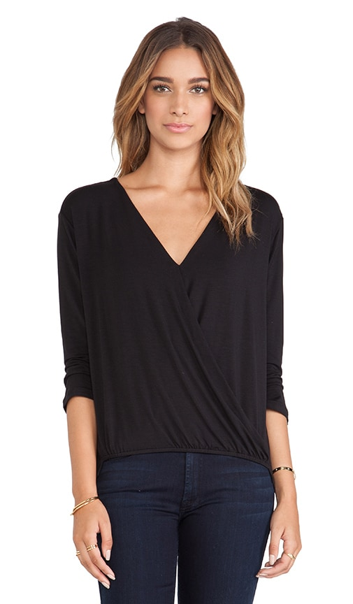 Amelia Crossover Blouse