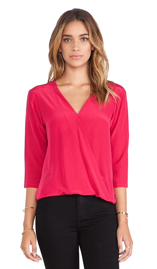 Devon Crossover Blouse