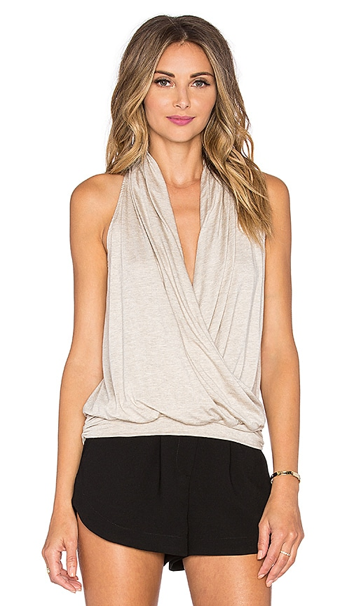 amour vert Agnes Top in Oatmeal