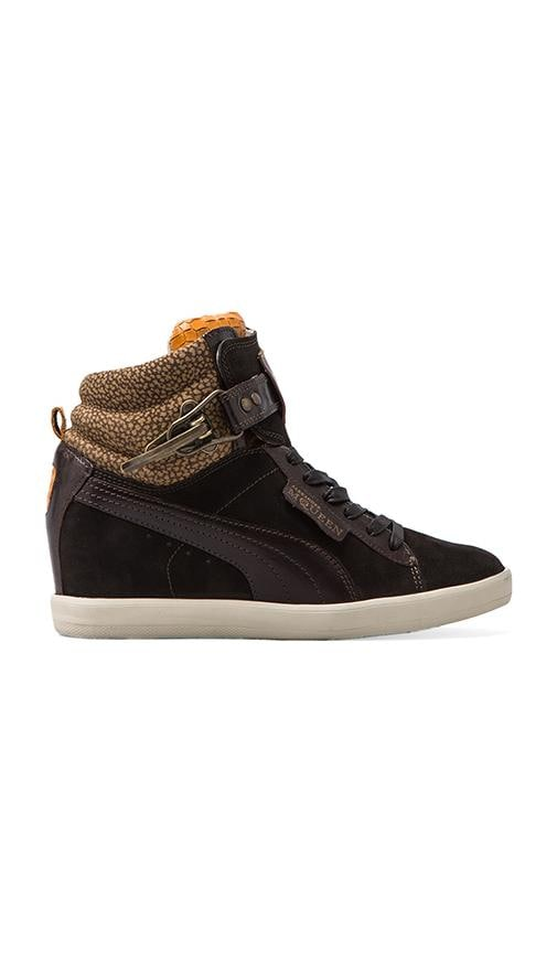 Joustesse Mid Wedge Sneaker