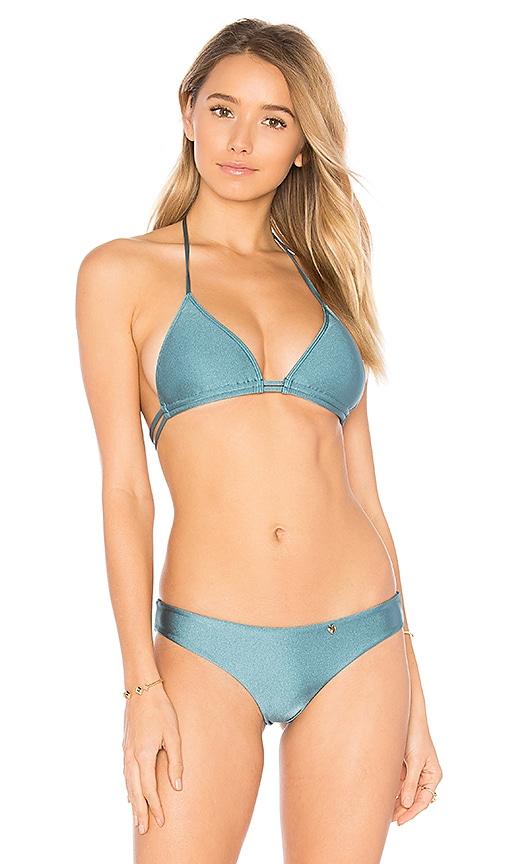AMORE + SORVETE Burning Love Top in Blue