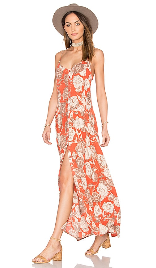 AMUSE SOCIETY Venetta Dress in Orange