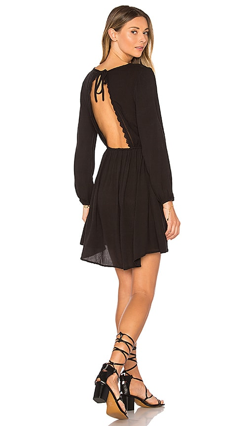 AMUSE SOCIETY Portia Dress in Black