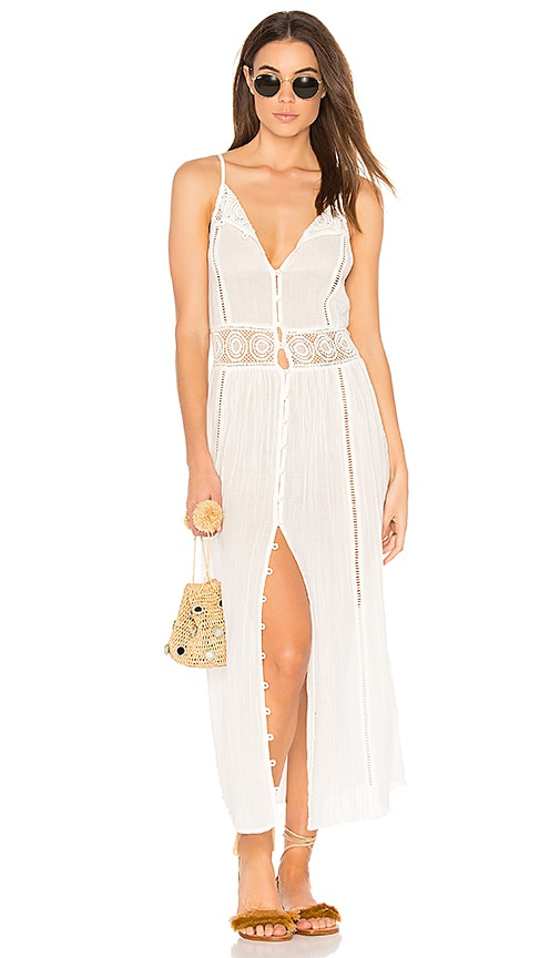 AMUSE SOCIETY Pria Dress in White