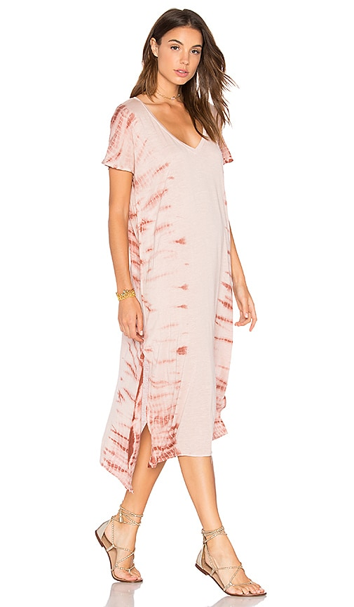 AMUSE SOCIETY Lady Bay Dress in Rose
