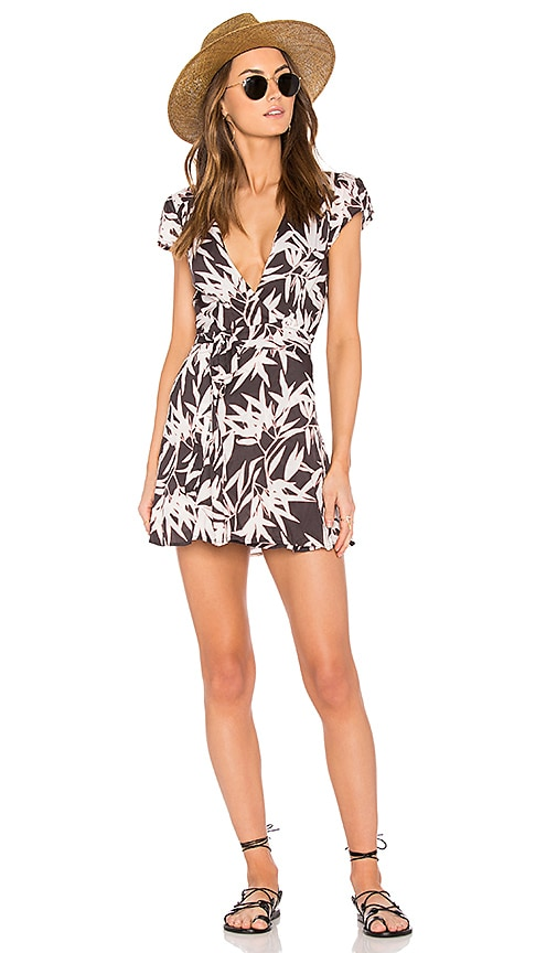 AMUSE SOCIETY Turner Dress in Charcoal