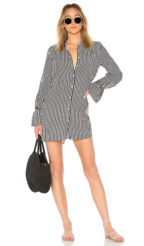AMUSE SOCIETY Kind Hearted Dress in Black & White