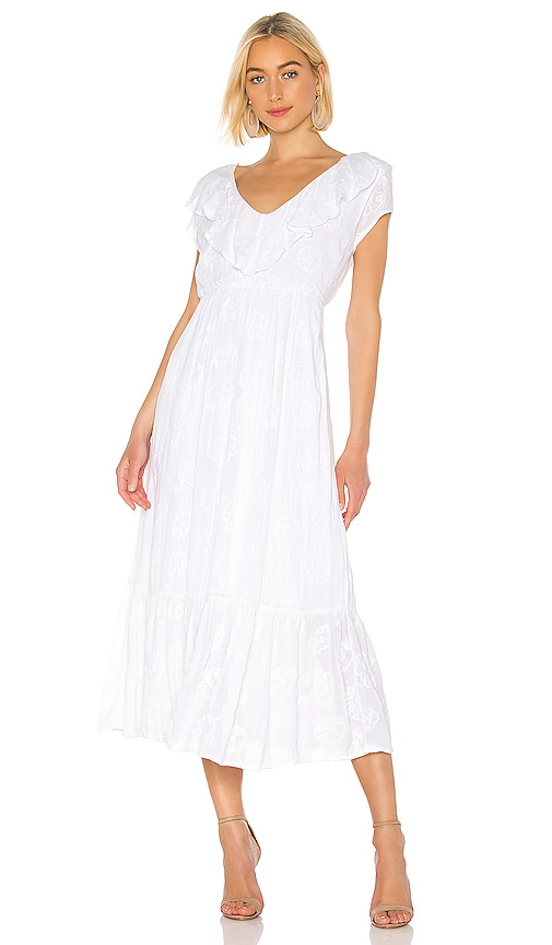 Tropical Morning Maxi Dress