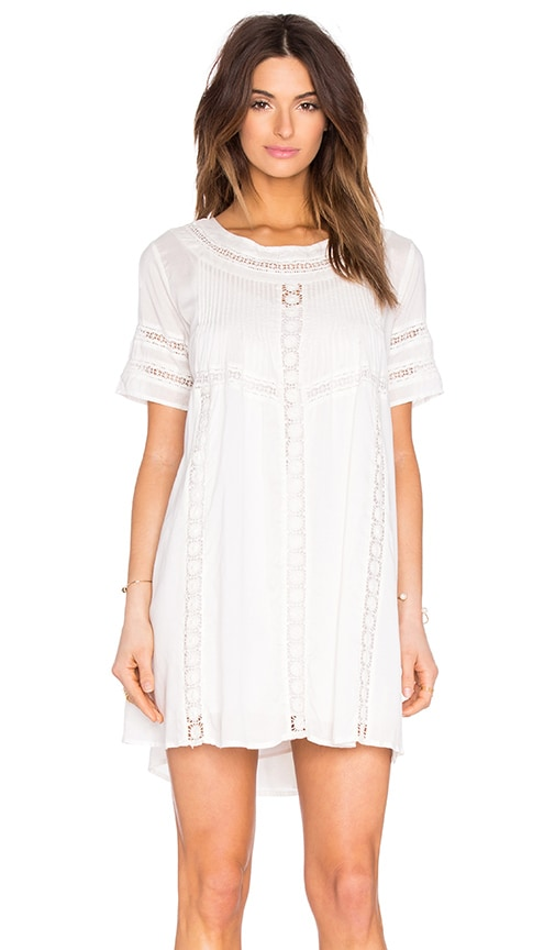 AMUSE SOCIETY Astrid Mini Dress in Casa Blanca