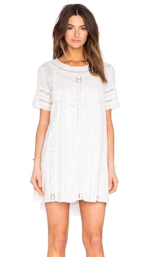 AMUSE SOCIETY Astrid Mini Dress in Ivory