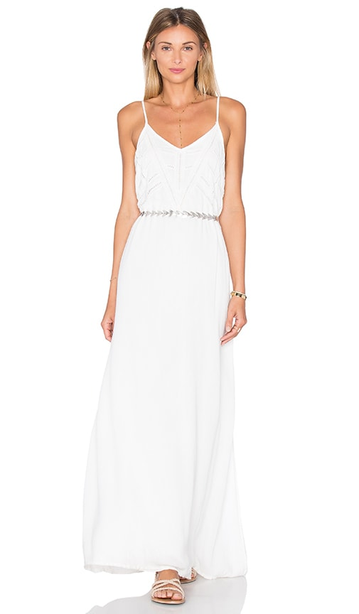 AMUSE SOCIETY Emmerson Dress in White