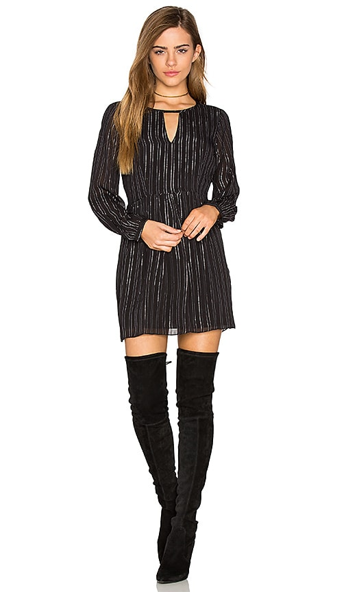 AMUSE SOCIETY Late Night Dress in Black