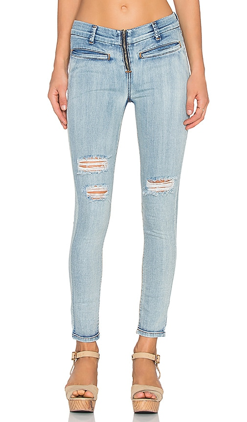 AMUSE SOCIETY Boulevard Jean in Light Vintage Wash