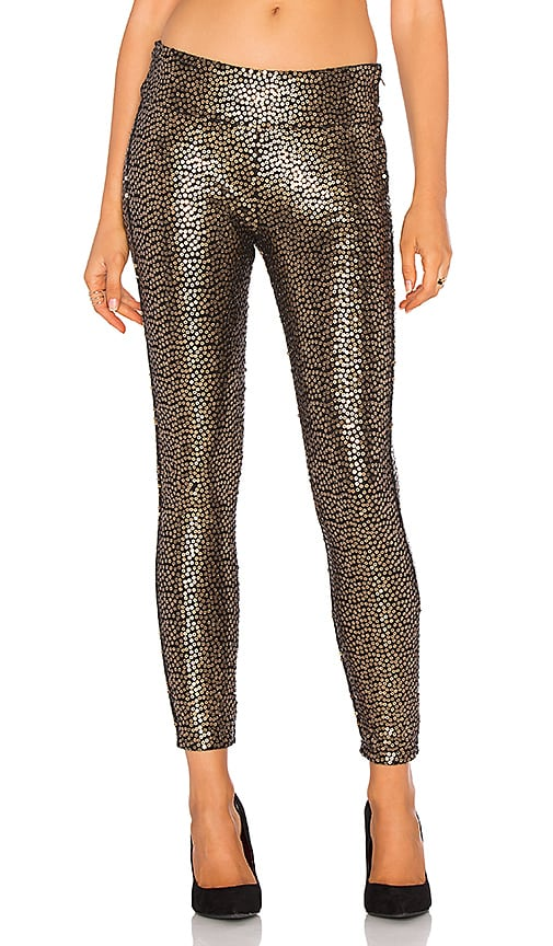 AMUSE SOCIETY Gold Dust Pant in Metallic Gold