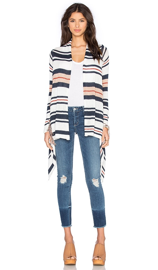 AMUSE SOCIETY Joplin Sweater in Stripe