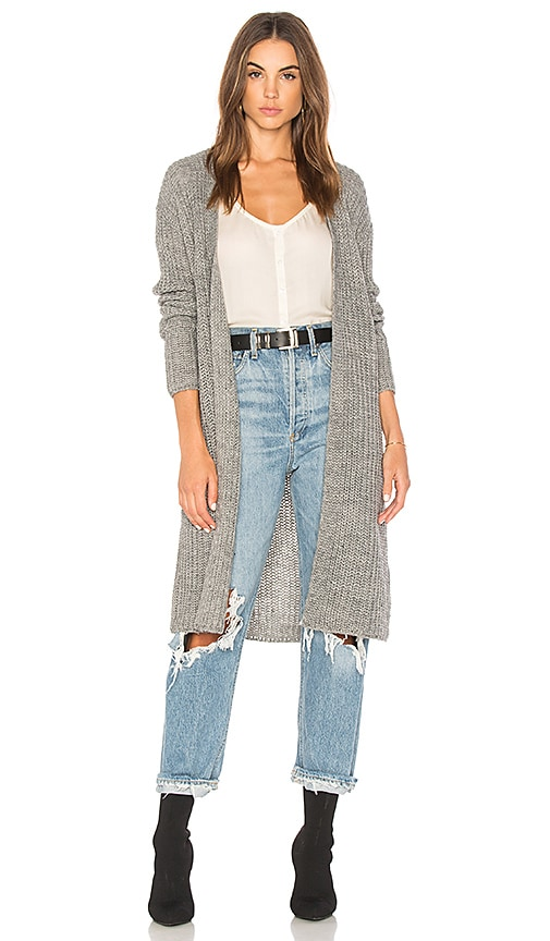 AMUSE SOCIETY Jayce Cardigan in Gray