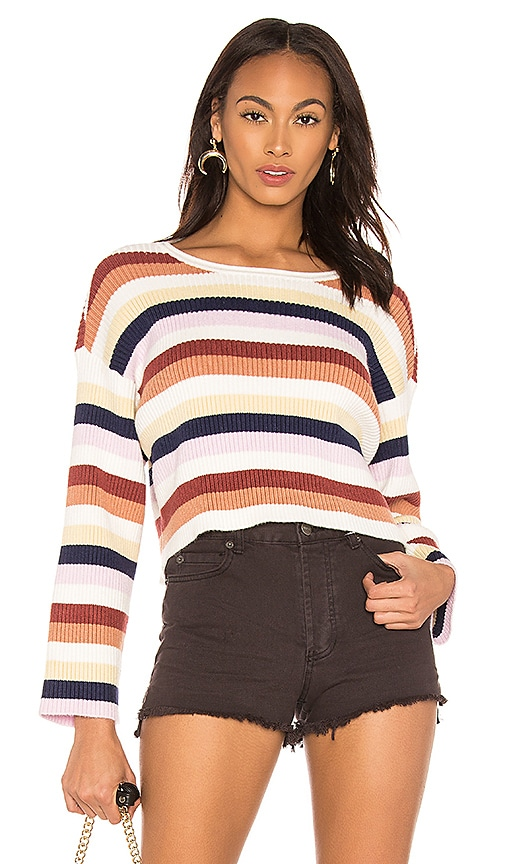 08241e8204c AMUSE SOCIETY Bahia Sweater in Multi | REVOLVE