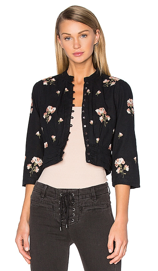 AMUSE SOCIETY Arcadia Jacket in Black Sands