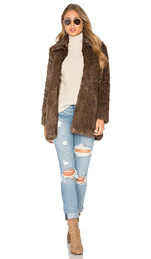 Cam Faux Fur Jacket