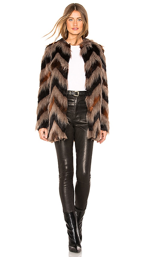Waylon Faux Fur Jacket