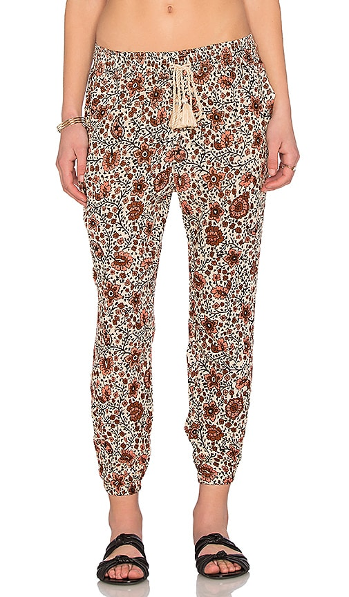 AMUSE SOCIETY Tash Pant in Beige