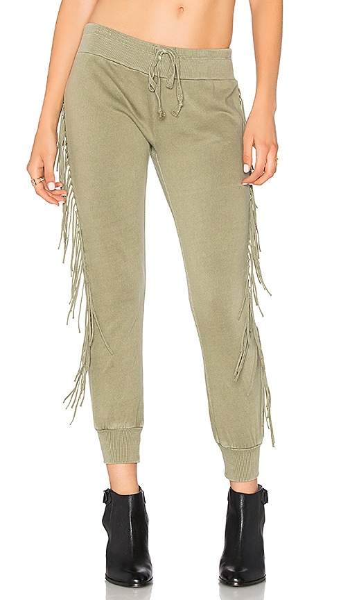 AMUSE SOCIETY Cascade Pant in Green