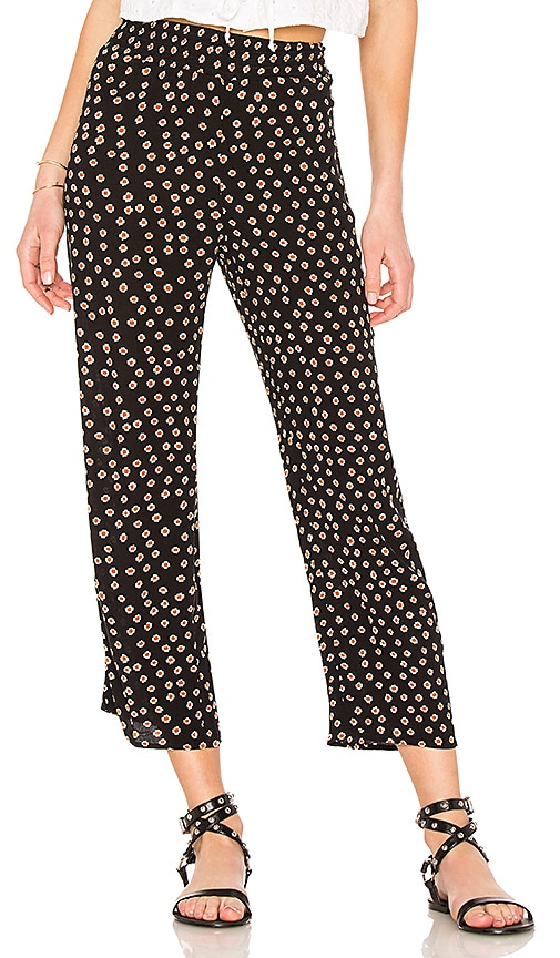 AMUSE SOCIETY Sunset Stroll Pant in Black