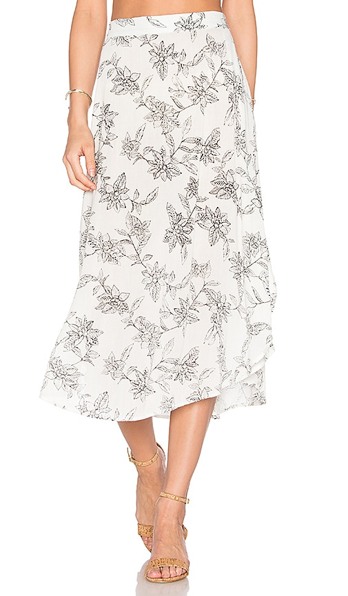 AMUSE SOCIETY Fillmoore Skirt in White