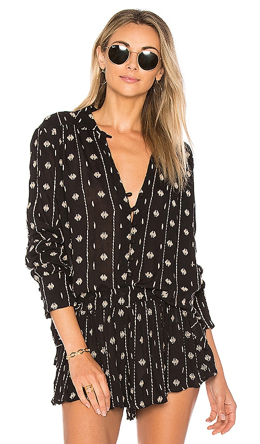 AMUSE SOCIETY Stinson Blouse in Black