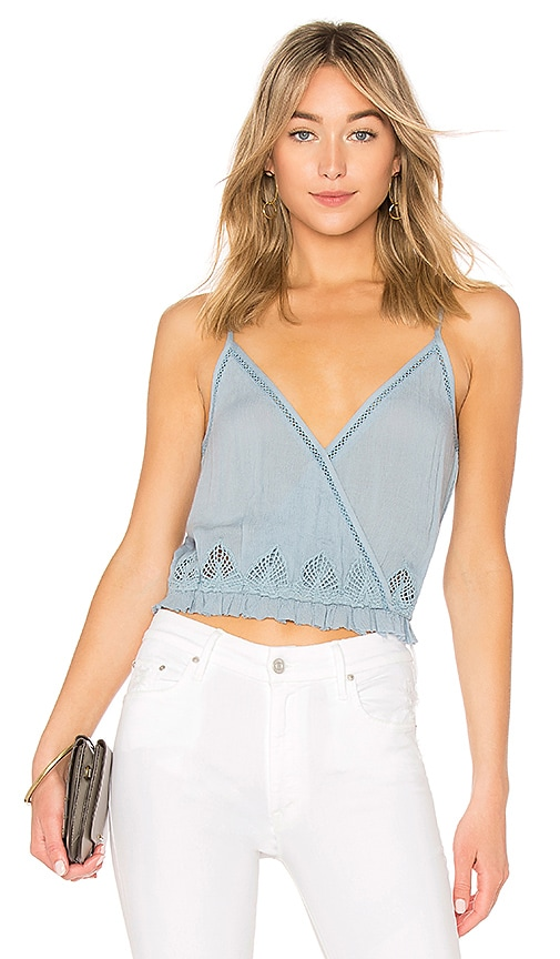 Sunshade Top in Blue. - size L (also in M,S,XS) Amuse Society