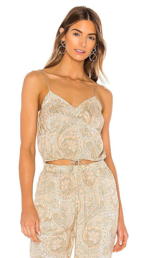 Delphine Woven Cami by Amuse Society