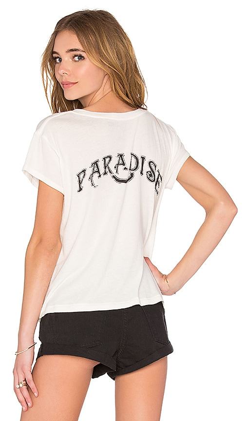 AMUSE SOCIETY Paradise Tee in White