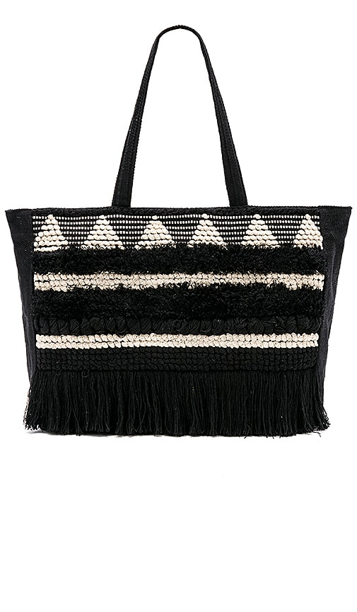 AMUSE SOCIETY Roadtrip Weekend Tote in Black