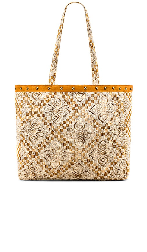 AMUSE SOCIETY Coastal Love Affair Tote in Tan