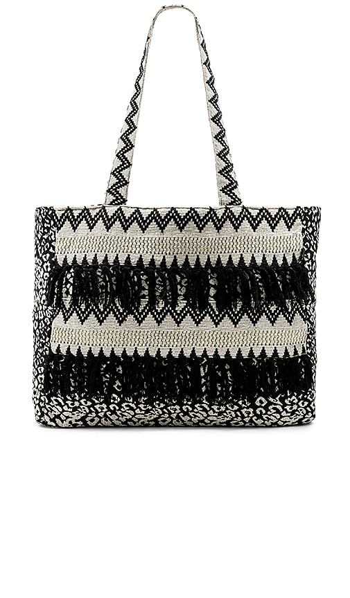 AMUSE SOCIETY Summer Breeze Tote in Black