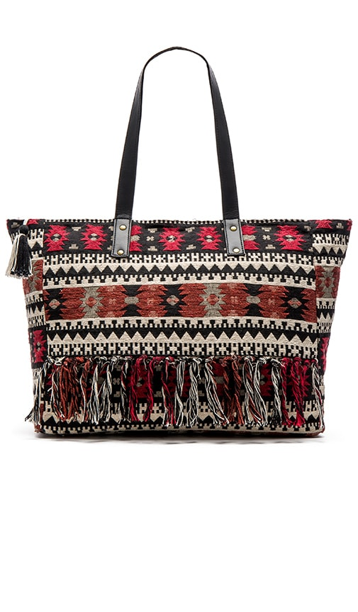 AMUSE SOCIETY Myrcer Tote in Black