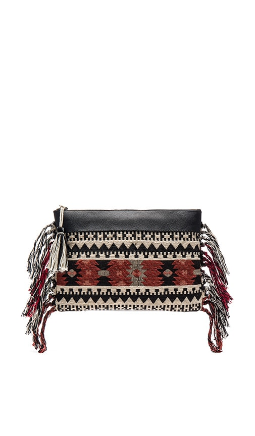 AMUSE SOCIETY Lynden Clutch in Multi