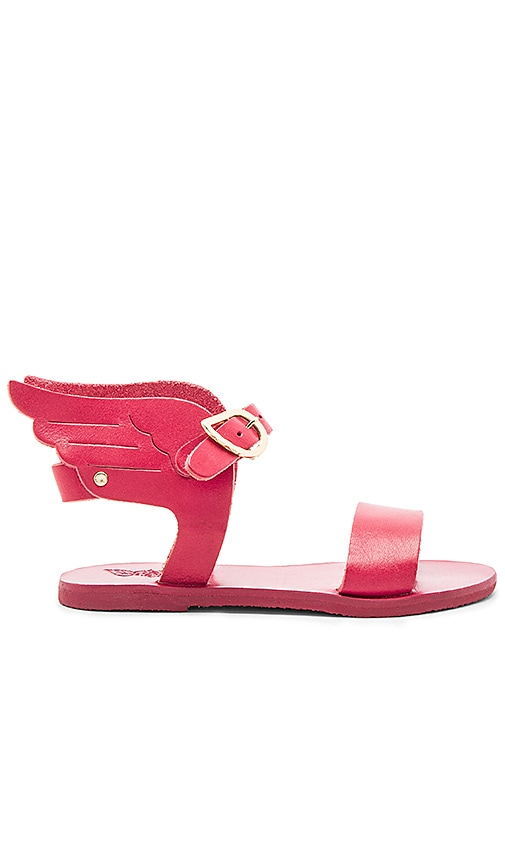 Ancient Greek Sandals Little Ikaria Sandal in Pink