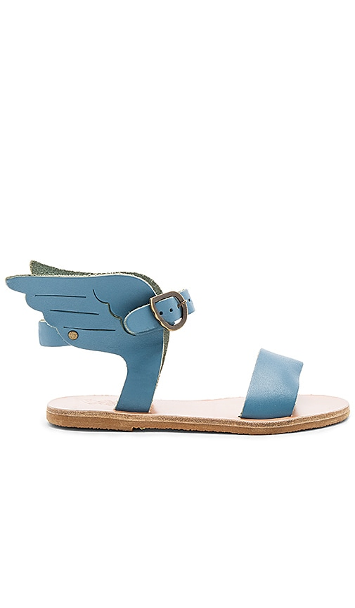 Ancient Greek Sandals Little Ikaria Sandal in Blue
