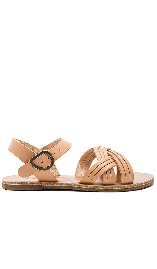 Ancient Greek Sandals Little Electra Sandal in Beige