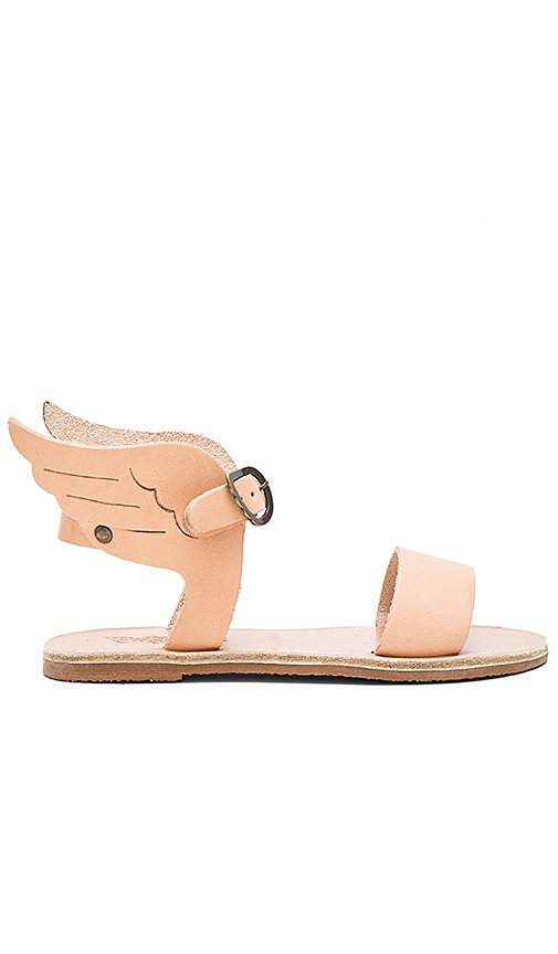 Ancient Greek Sandals Little Ikaria Sandal in Beige