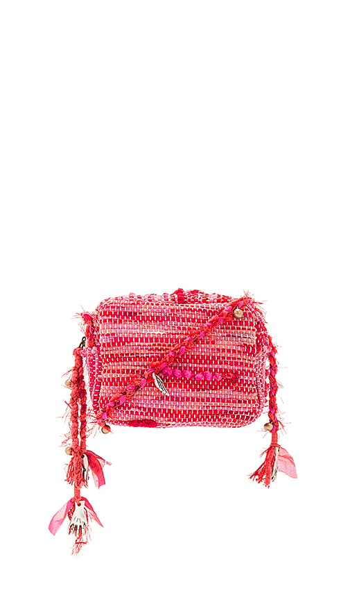 Ancient Greek Sandals Lachesis Crossbody in Fuchsia