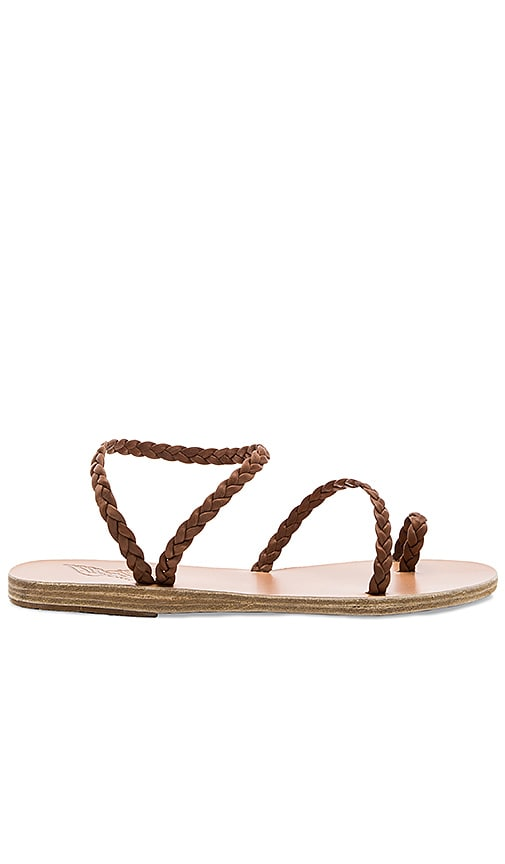Ancient Greek Sandals Eleftheria Sandal in Brown