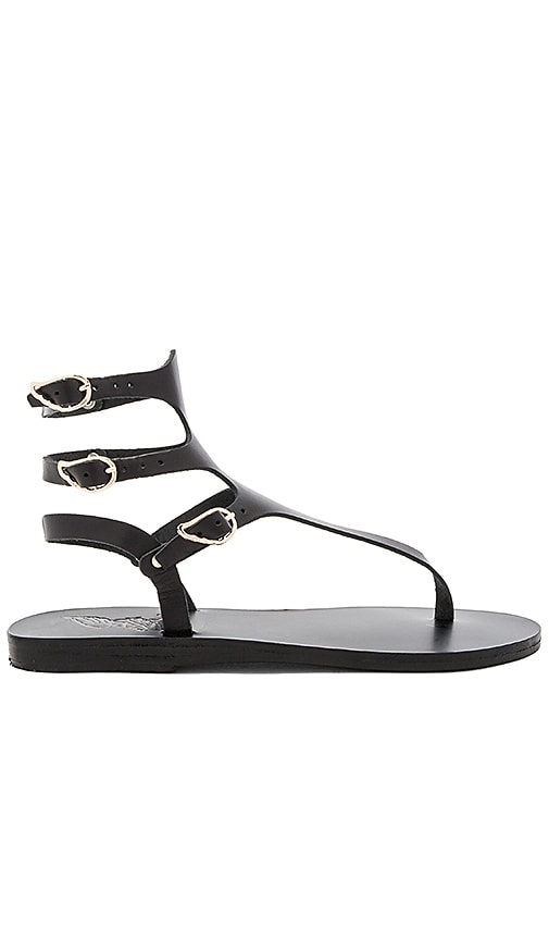 Ancient Greek Sandals Themis Sandal in Black