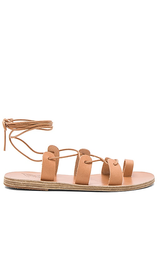 Ancient Greek Sandals Alcyone Sandal in Tan