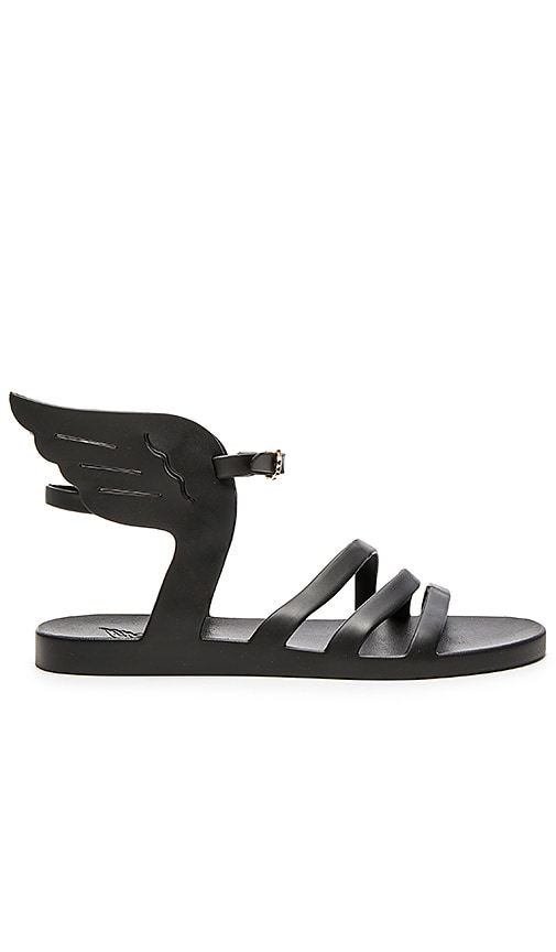 Ancient Greek Sandals Ikaria Jellie Sandal in Black